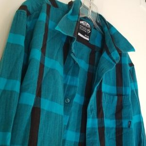 Men's Blue/Blk Flannel